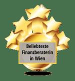 Gütesiegel beliebteste Finanzberaterin Wien