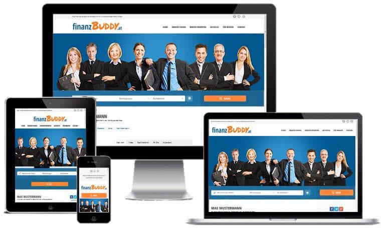 Als Finanzberater ein Profil bei FinanzBuddy anlegen